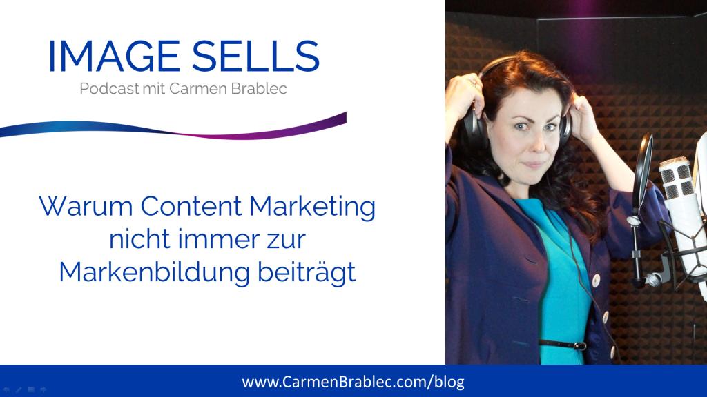 Warum Content Marketing nicht immer zur Markenbildung beiträgt