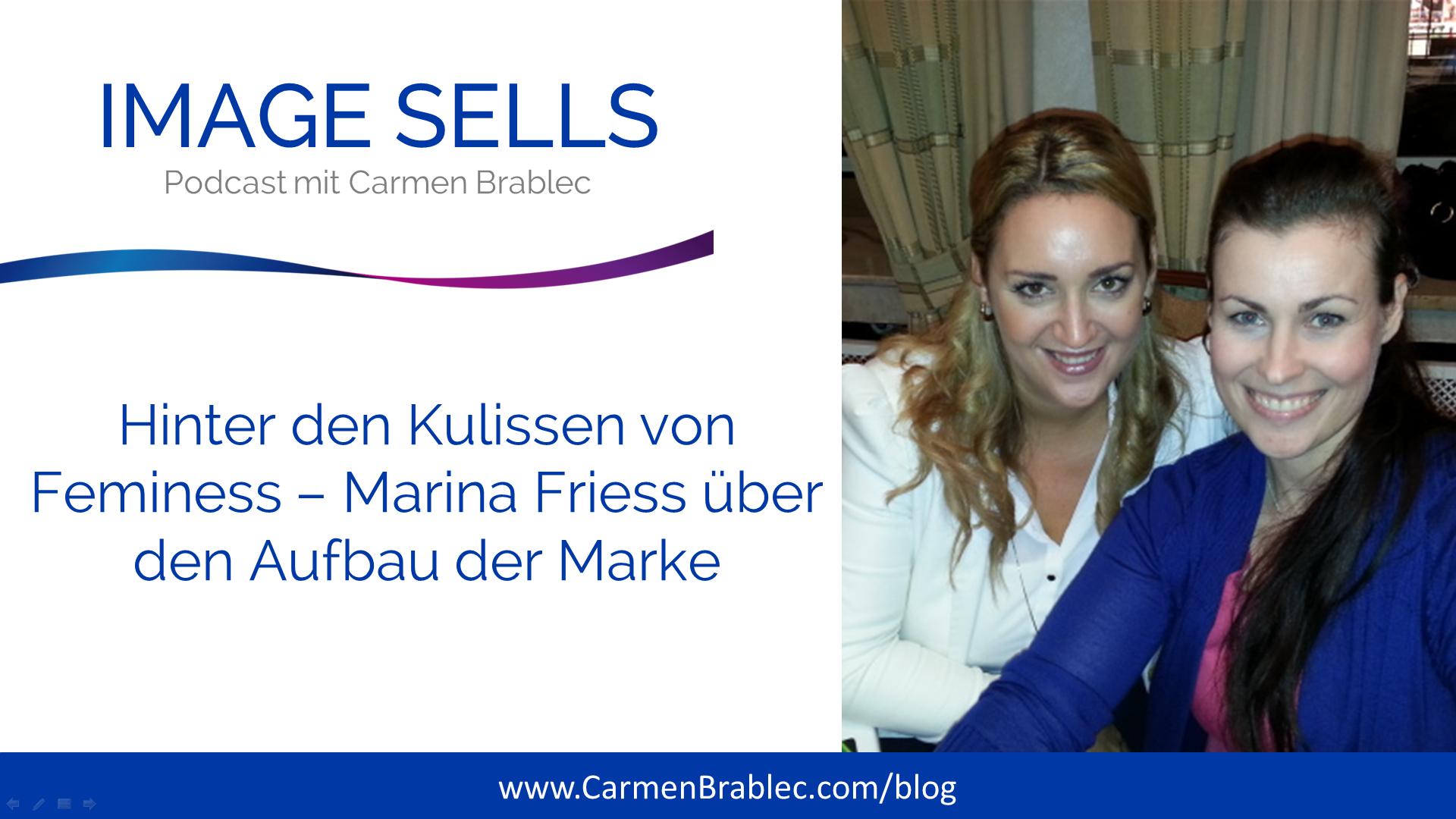 ISP #018 – Hinter den Kulissen von Feminess – Marina Friess über den Aufbau der Marke