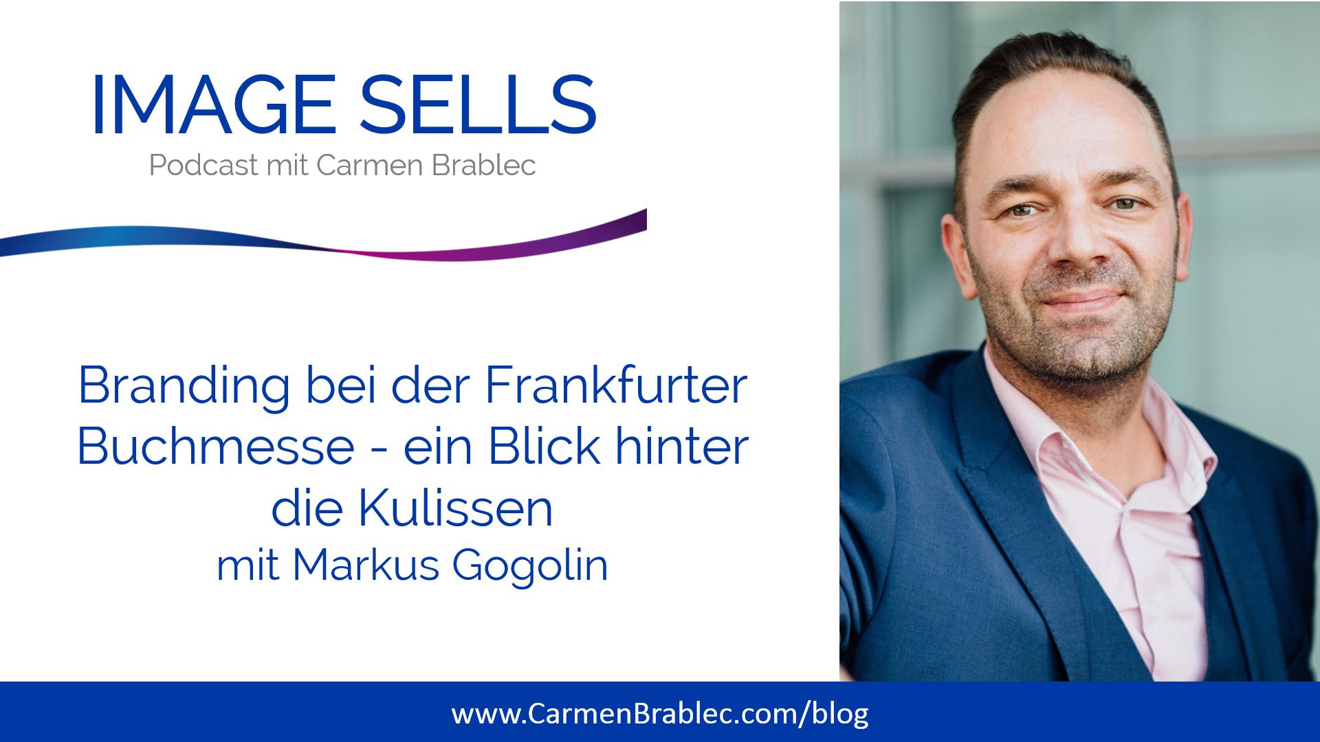 Branding bei der Frankfurter Buchmesse mit Markus Gogolin – ISP #053