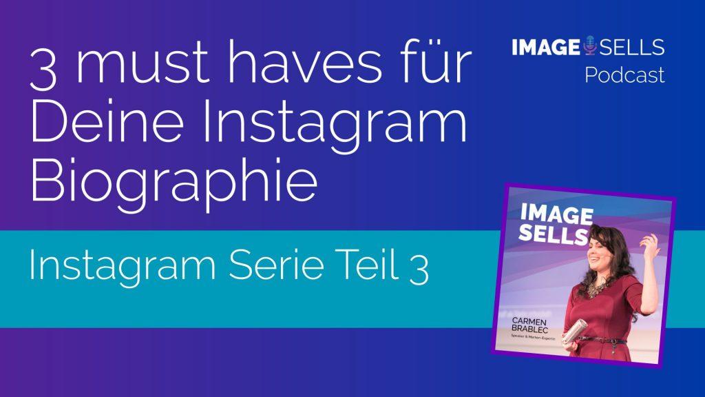 3 must haves für Deine Instagram Biographie